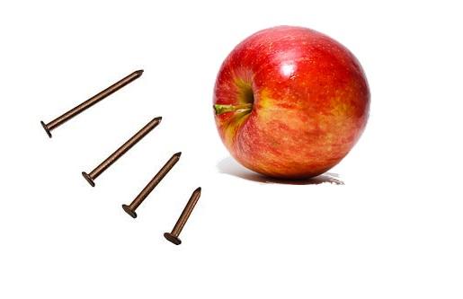 La mela chiodata o ferrata, per integrare il ferro in modo naturale e a costo zero. Cos'è, a cosa serve e come si prepara