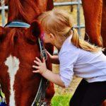 La mente dei bambini viene stimolata andando a cavallo